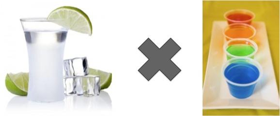 Vodka ou Jello Shot