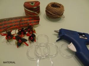 Material_porta guardanapo natal