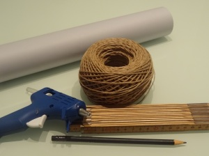 material_arvore cone de papel